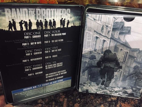 Band Of Brothers Blue-ray 6 Disc Full