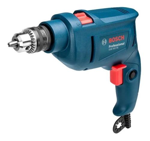 Furadeira Elétrica De Impacto E Parafusadeira Bosch Professional Gsb 450 Re 3100rpm 450w Azul 127v Com Caixa De Papelão