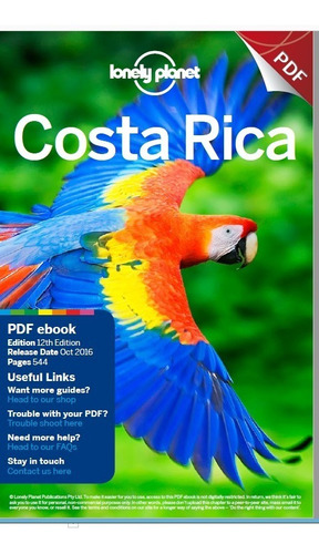 Inglés - Turismo - Lonely Planet  - Costa Rica - 2016