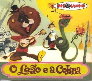 Cd Disquinho - O Leao E A Cobra Original