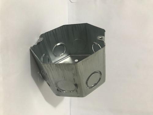 Caja Octogonal (extra Profunda 6.5 Cm)  (no Se Oxida)