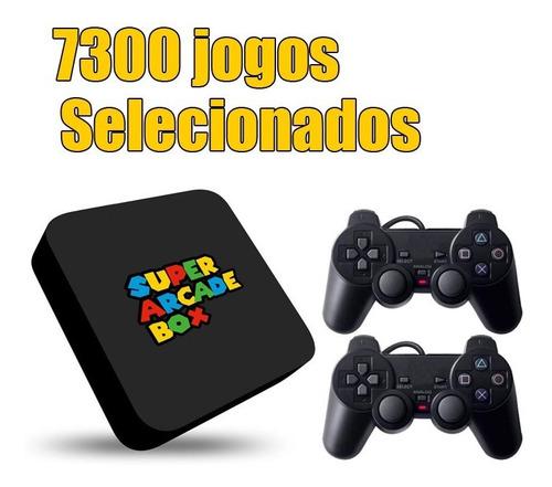 Video Game Retro Super Arcade Box 7300 Jogos 32gb