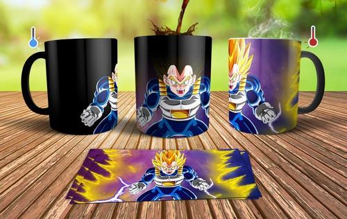Plantillas Sublimación Tazas Mágicas / Dragon Ball Z 3d