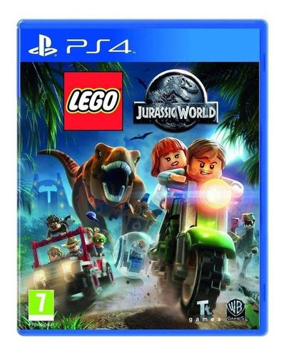 Lego Jurassic World Warner Bros. Ps4 Físico