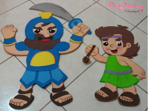 Personagem Bíblico Davi E Golias