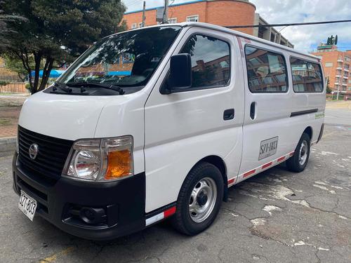 Nissan Urvan 2012 3.0 Diesel 16psj + Conductor