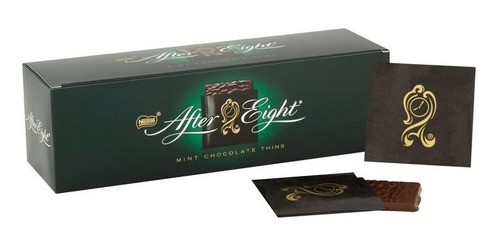Tableta Chocolate Con Menta After Eight Tabletas X200grs