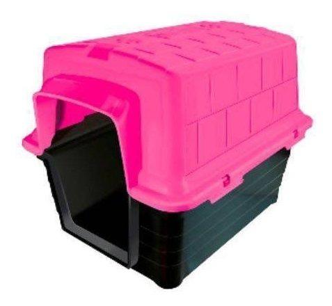 Casinha Plast. Furacaopet N5,0 - Rosa