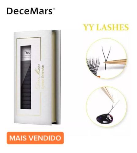 Cílios Decemars Yy Mix (8 Ao 12) - Volume Brasileiro