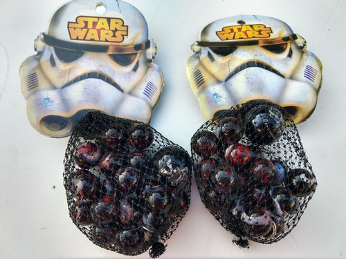 Bolsa De Canicas Bolitas De Star Wars - Fabricadas En México