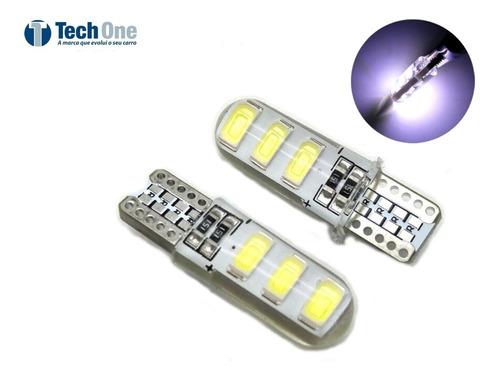 Par Pingo Canbus T10 6 Leds Canceller  Silicone Tech One