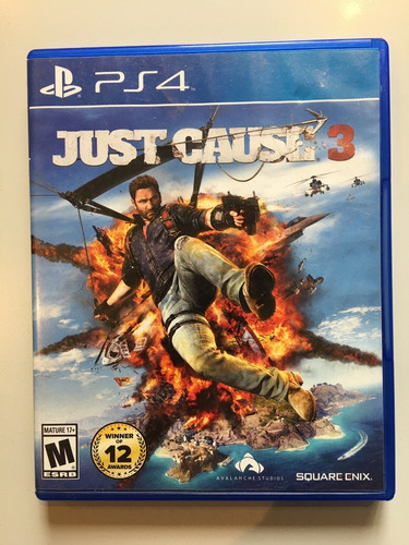 Just Cause 3 --fisico-- Ps4 Impecable...!!!!!
