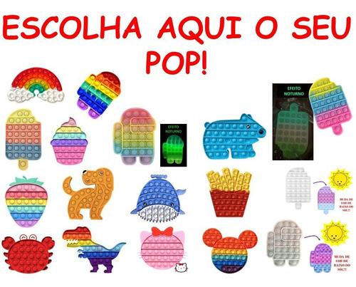 Pop It Fidget Toy Brinquedo Antistress Bolha No Brasil