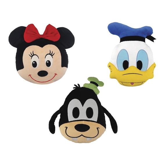 Clarin Colección Disney - Set 2 De 3 Almohaditas De Peluche