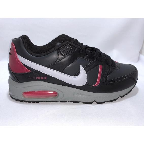 Zapatillas Nike Air Max Command Negro/bordo