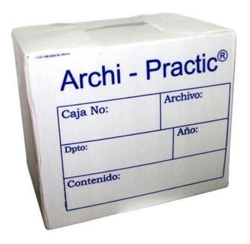 Archivador, Archicomodo, Archipractic Pack De 2