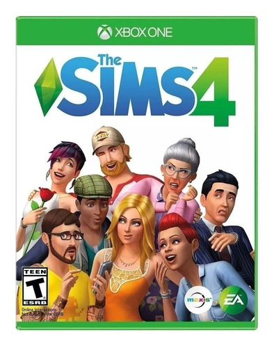 The Sims  4 Standard Edition Electronic Arts Xbox One Físico