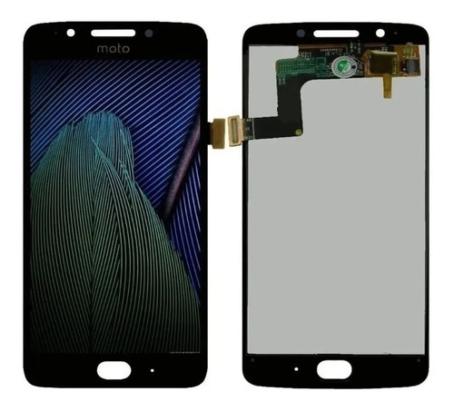 Tela Display Lcd Touch Frontal Moto G5 Xt1672 Incel