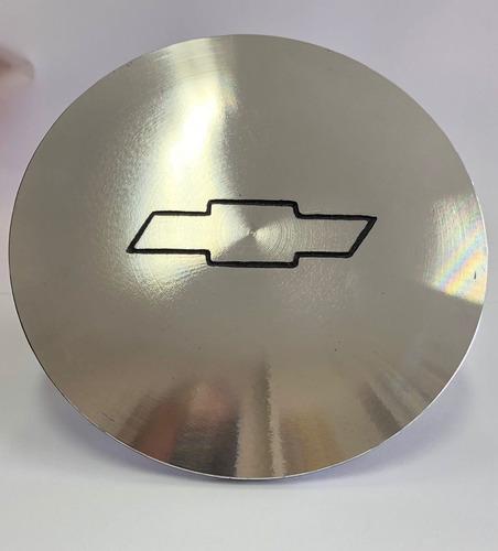 Kit 4 Calotas Roda Opala Ralinho Aluminio
