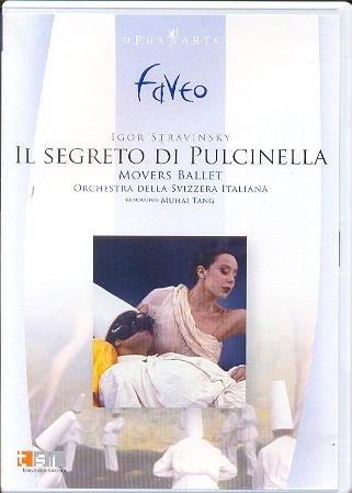 Dvd Stravinsky Tang - Il Segreto Di Pulcinella Original