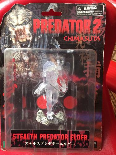 Predator 2 Mini Estatua Stealth Predator Elder Kotobukiya