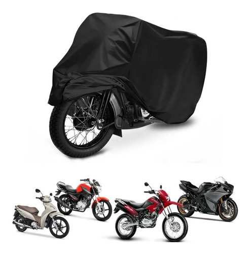 Capa Cobrir Moto Impermeável Proteção Contra Riscos Sol