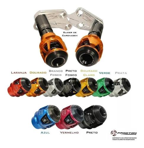 Slider Protetor Motor F1 Procton Yamaha Mt 03 Mt03 Mt 03