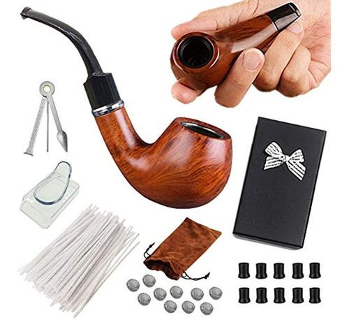 Pipa De Tabaco Para Fumar 2 Und  + Kit De Accesorios
