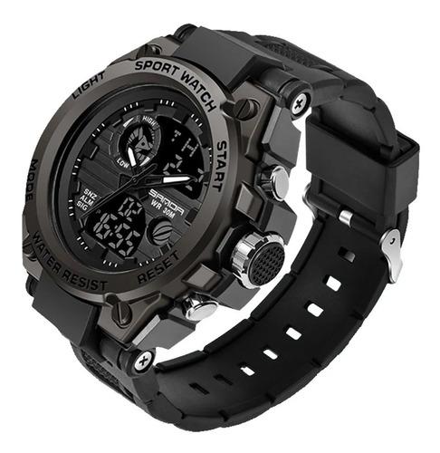 Sanda739led Relógio Militar De Luxo Masculino