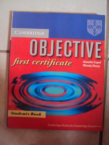 Cambridge First Certificate - Student Book Original