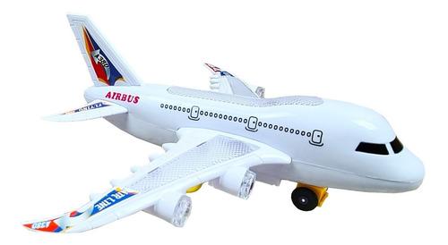 Avião Bate Bate Com Som E Luz - Brinquedo Meninos