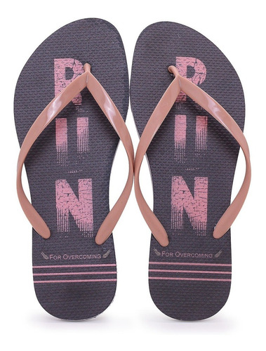 Chinelo Feminino Branco Run - Fitt'shoes