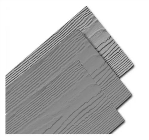 Placa Siding Cedral 8mm Gris 3,60x0,2 Textura Madera