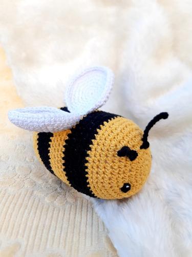 Abeja Abejita Amigurumi Apego Bebe Niños Crochet Peluche