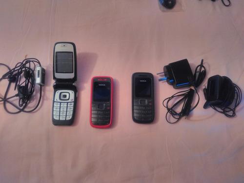 Teléfonos Celulares Usados Varios