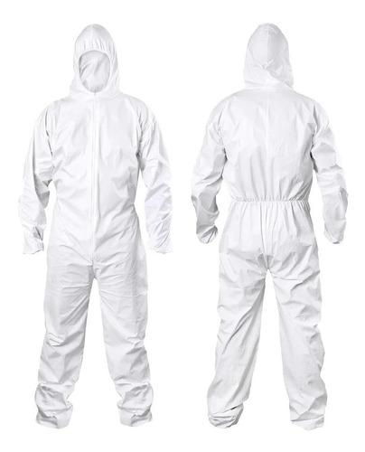 Macacão De Segurança Padrão Tyvek Branco