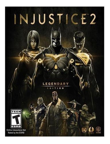 Injustice 2 Legendary Edition Warner Bros. Pc Digital
