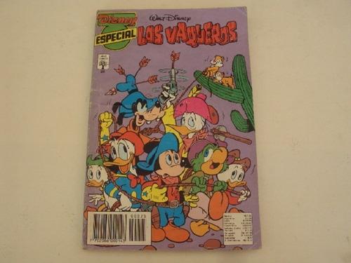 Historieta Disney Especial # 25- Los Vaqueros - Abril Cinc0