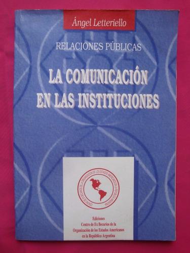 La Comunicación En Las Instituciones