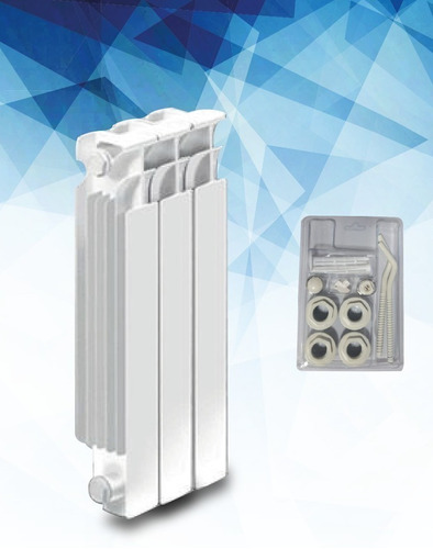 Radiador Caldaia Clan N500 X 8 Elementos + Kit Universario Gratis