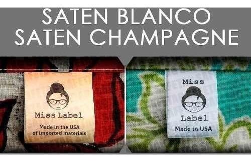 1000 Etiquetas Ropa De Tela Talles Grifas Prendas Textiles Logos Marcas Indumentaria Composicion Poliamidas Saten Gross