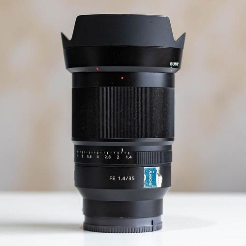 Lente Sony Fe 35 Mm F 1.4 Distagon Zeiss $ 160.000