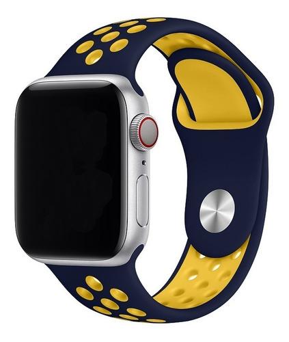 Pulseira Com Furos Compatível Com Apple Watch E Iwo