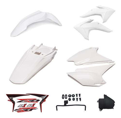 Kit Plastico Crf 230f Roupa Amx Completo Honda Várias Cores