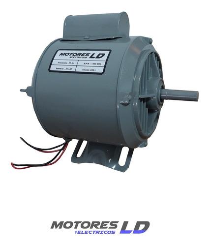 Motor Monofásico 3/4 Hp 1450 Rpm Alto Par Trabajo Continuo