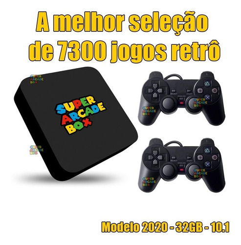 Vídeo Game Super Arcade Box 7300 Jogos