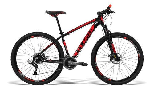 Bicicleta Alumínio Aro 29 Gts 21 Vel Freio A Disco Ride 19