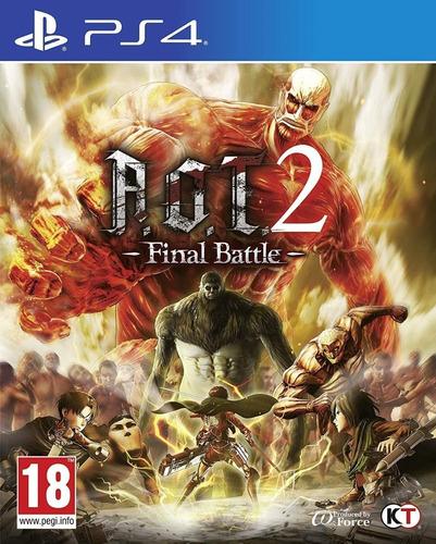 Attack On Titan 2 Final Battle Ps4 Garou Games