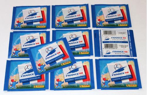Copa 1998 - Envelope Lacrado Importado Panini Figurinhas Original