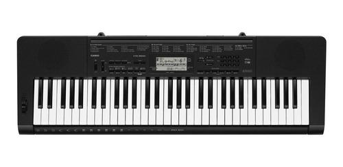 Teclado Musical Casio Ctk-3500 61 Teclas Preto